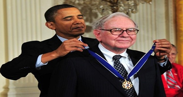 warren buffett barack obama